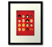 'Pulp Fiction' Framed Print