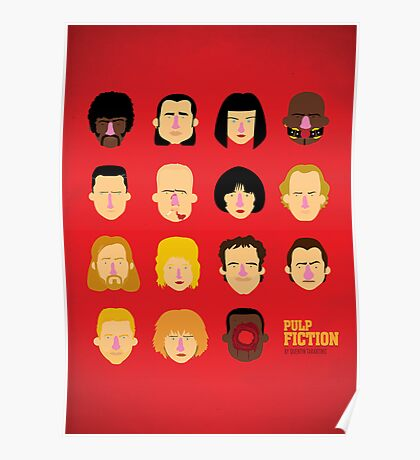 'Pulp Fiction' Poster