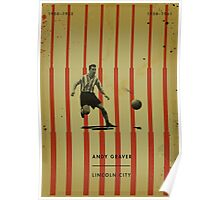 Andy Graver - Lincoln City Poster