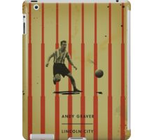 Andy Graver - Lincoln City iPad Case/Skin