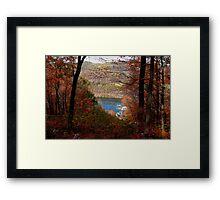 Sandstone Falls Framed Print