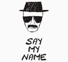 Breaking Bad - Say My Name by mumblebug