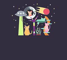 Alien Cat Tower Unisex T-Shirt