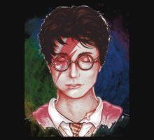 Harry Potter Head One Piece - Long Sleeve