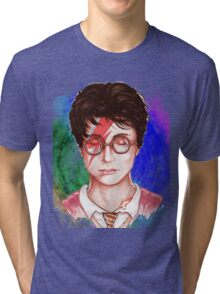 Harry Potter Head Tri-blend T-Shirt