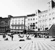 Siena. Black and white  by sylvianik