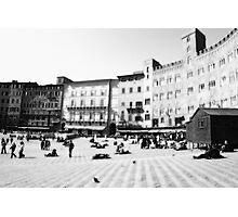 Siena. Black and white  Photographic Print