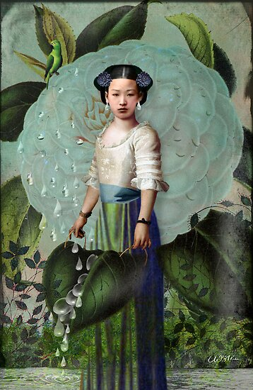 Morning Dew Girl by Catrin Welz-Stein