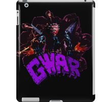 gwar iPad Case/Skin