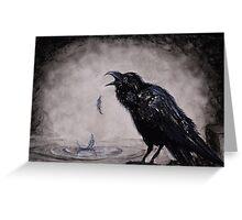 Raven Wish Greeting Card