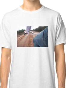 Girl Rides Bike Classic T-Shirt