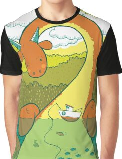 The Big 3: Loch Ness Graphic T-Shirt