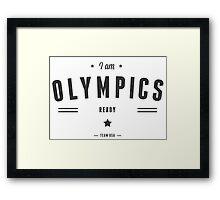 olympics Framed Print