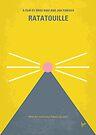 No163 My Ratatouille minimal movie poster by Chungkong