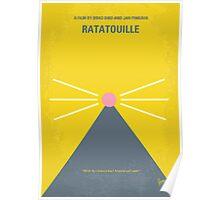 No163 My Ratatouille minimal movie poster Poster