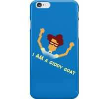 Maurice Moss - I AM a giddy goat (I.T. Crowd Design) iPhone Case/Skin