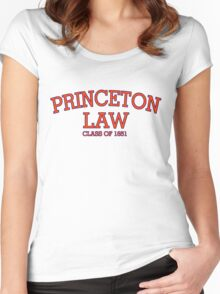 Princeton Law Class of 1851 Women's Fitted Scoop T-Shirt