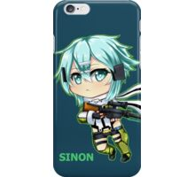 GGO: Chibi Sinon iPhone Case/Skin