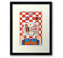 Breakfast Framed Print