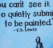 C.S. Lewis Quote  Sticker