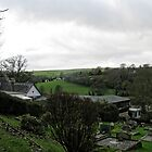View From Uplyme Churchyard, Devon, UK by lynn carter