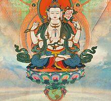 Buddha Meditation by AngiandSilas