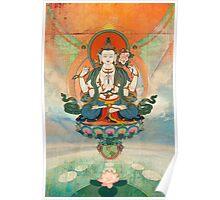 Buddha Meditation Poster