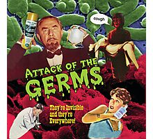 Attack of the Germs! Photographic Print