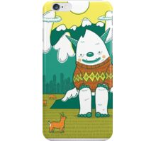 The Big 3: Yeti iPhone Case/Skin