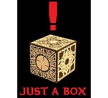 Just A Puzzle Box Photographic Print