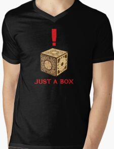 Just A Puzzle Box Mens V-Neck T-Shirt
