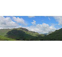 Little Langdale Panorama Cumbria Photographic Print
