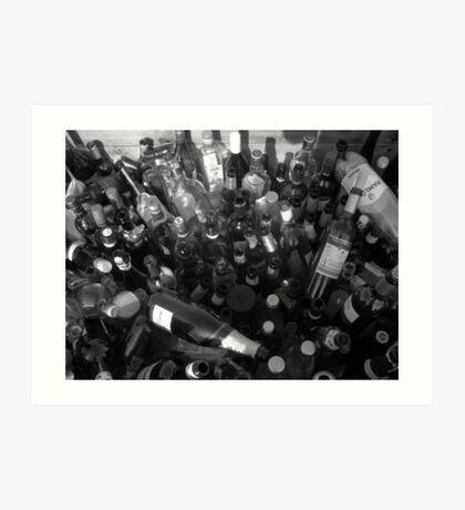 Loads of Bottles Art Print
