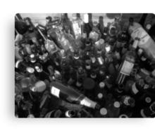 Loads of Bottles Canvas Print