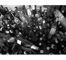 Loads of Bottles Photographic Print