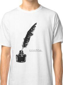 Write. Classic T-Shirt