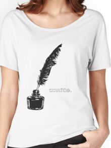 Write. Women's Relaxed Fit T-Shirt