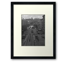 Main street in Gothenburg Framed Print