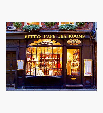 Bettys Tea Room - Stonegate York Photographic Print