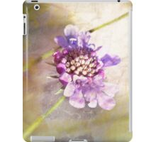 Flower texturized iPad Case/Skin