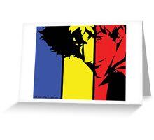 Cowboy Bebop Spike Greeting Card