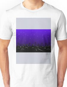 cemetery border Unisex T-Shirt