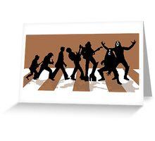 Immortal history of rock n roll ! Greeting Card
