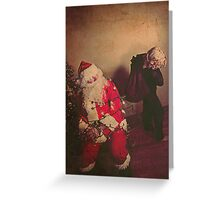the day santa went missing 1 Greeting Card