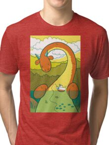The Big 3: Loch Ness Tri-blend T-Shirt