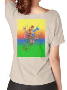 Patch Of Iris Women's Relaxed Fit T-Shirt
