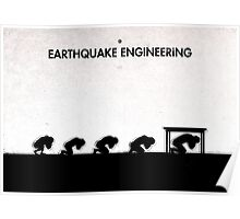 99 Steps of Progress - Earthquake engineering Poster