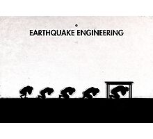 99 Steps of Progress - Earthquake engineering Photographic Print