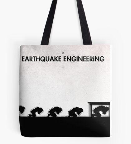 99 Steps of Progress - Earthquake engineering Tote Bag