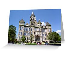Route 66 - Jasper County Courthouse Greeting Card